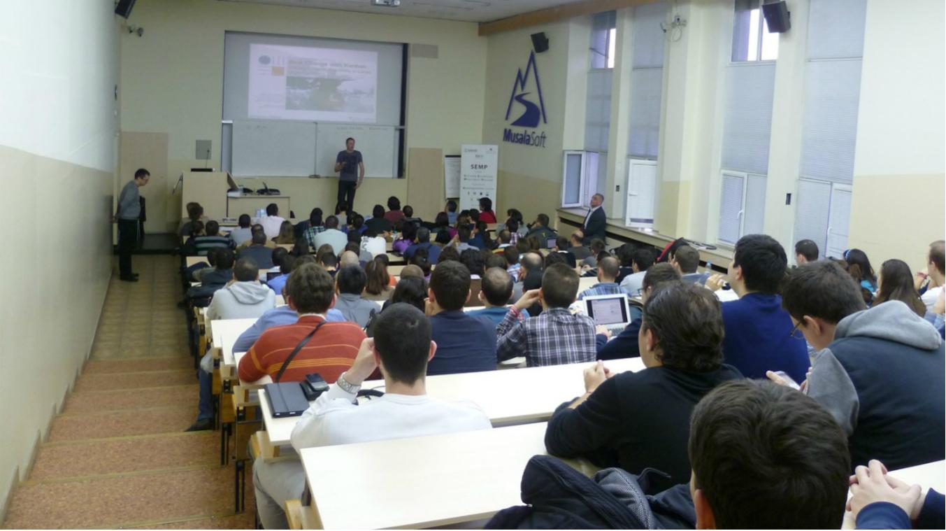 David Anderson, Open lecture, 2013