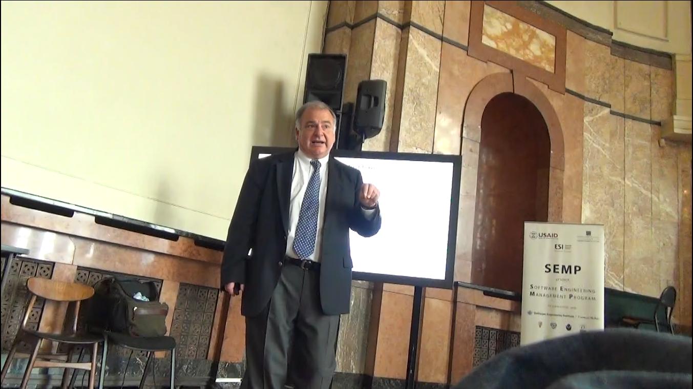 Dr. Eduardo Miranda, Open lecture FMI, 2014